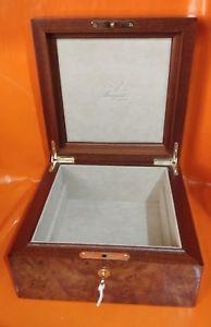 腕時計 ウォッチ ブレゲキービンテージビッグボックスbreguet  large 25x25cm  key  wood vintage big watch box  ers welcome