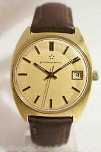 【送料無料】腕時計 ウォッチ マティックキャリバーボンeternamatic a quantieme, calibre eta 2824, trs bon tat, annees 70