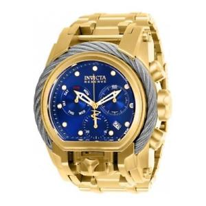 【送料無料】腕時計 ウォッチ リザーブクォーツクロノグラフステンレススチールアラームドラドinvicta hombres reserve crongrafo de cuarzo acero inoxidable reloj dorado 26585