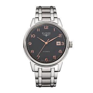 【送料無料】腕時計 ウォッチ ビンテージマスターアラームelysee vintage master automatic, ref 80546s, reloj hombre