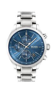 【送料無料】腕時計 ウォッチ ボスマンアナログクロノグラフタキメーターステンレススチールシルバーboss reloj hombre 1513478 analgico chronograph, taqumetro plata de acero inoxidable