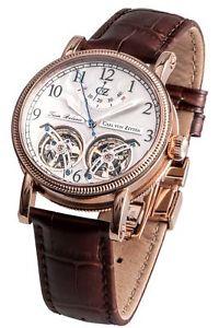 【送料無料】腕時計 ウォッチ カールフォンアラームオリジナルcarl von zeytenbernaucvz0033rwh reloj original nuevo
