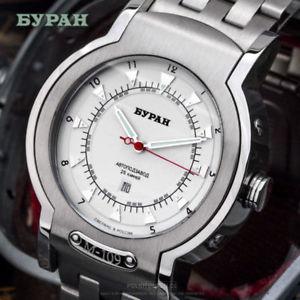 【送料無料】腕時計 ウォッチ スイスイータアラームラスロシアburan m109 suizo eta 26713051733 automatic russ mecnico reloj montre rusia