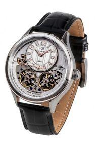 【送料無料】腕時計 ウォッチ カールフォンアラームマニュアルバッハcarl von zeyten reloj hombre le gusta cvz0055wh automtico bach
