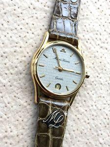 【送料無料】腕時計 ウォッチ モーリスロアレディアラームクロックラグジュアリーnos nuevo maurice lacroix watch 24 mm reloj lady reloj croco mujer women lujo