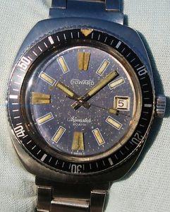 【送料無料】腕時計 ウォッチ ダイバーサブメートルrarissimo aquastar duward diver automatic sub 200 mt anni 70