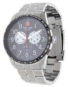 【送料無料】腕時計 ウォッチ スイスアルプスブラックサムswiss alpine military by grovana seores reloj de pulsera negro 70829138sam