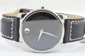 【送料無料】腕時計 ウォッチ アラームmovado vizio reloj para hombre cuarzo 40mm 071141142 hermosa estado raro