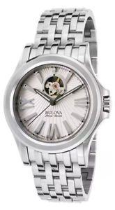 【送料無料】腕時計 ウォッチ カークウッドステンレススチールアラームbulova accuswiss kirkwood automtico reloj hombre acero inoxidable 63a125