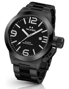 【送料無料】腕時計 ウォッチ スチールステンレススチールブラックアラーム