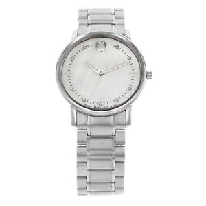 【送料無料】腕時計 ウォッチ ステンレススチールパールクォーツmovado tc acero inoxidable ncar reloj de cuarzo mujer 0606691