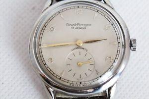 【送料無料】腕時計 ウォッチ orologio girard perregaux manuale anni '50 metallo