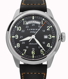 腕時計 ウォッチ リリースlambertiorologiai  modello5307n  iseo datagiorno
