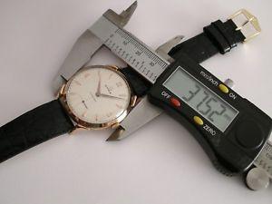 腕時計 ウォッチ ビンテージローズゴールドクモケースサイズcyma cymaflex vintage oro rosa 18kt spider case 1950 big size