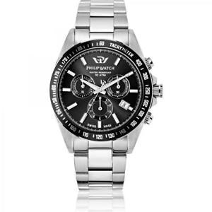 【送料無料】腕時計 ウォッチ クロノグラフフィリップカリブウォッチorologio cronografo uomo philip watch caribe r8273607002 acciaio