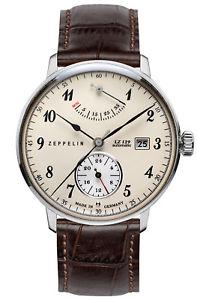 腕時計 ウォッチ ツェッペリンアラームzeppelin hindenburgo reloj hombre automtico 70604