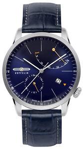 【送料無料】腕時計 ウォッチ ツェッペリンラインテレビマンクロックzeppelin linia plana reloj automtico de hombre 73663