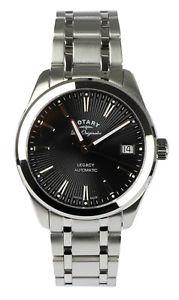 【送料無料】腕時計 ウォッチ ロータリーシルバーレガシーブラックポンドスイスrotary seora reloj pulsera legacy automtico plateado negro lb9016504 swiss made