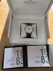【送料無料】腕時計 ウォッチ シミエールホワイトalpina startimer piloto automtico blanco al525s4s6