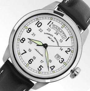 【送料無料】腕時計 ウォッチ リリースlambertiorologiai modello5307b iseo datagiorno
