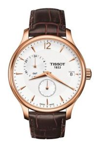 【送料無料】腕時計 ウォッチ ティソアラームtissot tradicin gmt reloj hombre t0636393603700