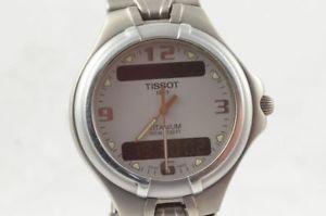 【送料無料】腕時計 ウォッチ ティソクォーツクロノアラームタイタンローズアナログデジタルtissot t690 quartz chrono seores reloj titan digital analgico