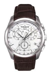 【送料無料】腕時計 ウォッチ ティソクロノグラフアラームtissot couturier chronograph reloj hombre t0356171603100