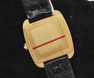 腕時計 ウォッチ ビンテージkゴールドマンクォーツウォッチlongines vintage 18k gold mans quartz watch  pristine unworn