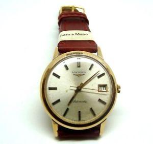 【送料無料】腕時計 ウォッチ ゴールドビンテージダlongines orologio da uomo automatico in oro massiccio 18 kt vintage anni 60