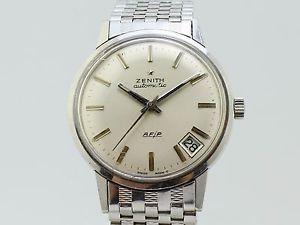 【送料無料】腕時計 ウォッチ ビンテージスチールzenith vintage afp automatic steel 570d618