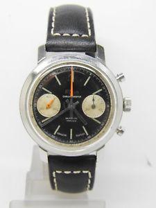 腕時計 ウォッチ パンダヴィンテージクロノchronographe  elvia panda acier mouvement landeron 149 ,vintage chrono
