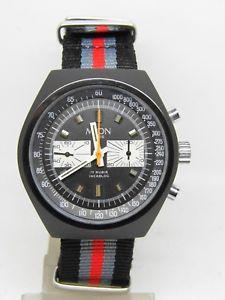 【送料無料】腕時計 ウォッチ ビンテージクロノバージョンchronographe myon mouvement 7733,vintage chrono vers 1970