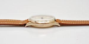腕時計 ウォッチ ヴィンテージピンクゴールドクロノグラフjavil vintage 1950 18k pink gold chronograph 37mm well working exc