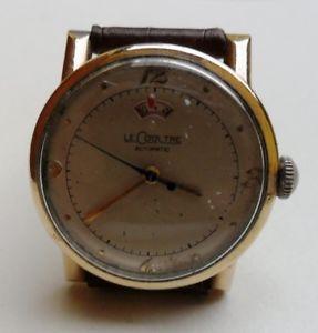 【送料無料】腕時計 ウォッチ オートマチックパワーリザーブゴールドlecoultre automatic power reserve, gold filled 10 kt,anni 50 2