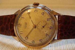 【送料無料】腕時計 ウォッチ ビンテージカサゴールドオーバーサイズウォッチvintage orologio watch ghitor calibro eta 1120 cassa oro 18kt oversize mm37