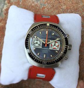 【送料無料】腕時計 ウォッチ ダイバークロノグラフライムaureus cronografo diver oversize 40mm cal valjoux 7730