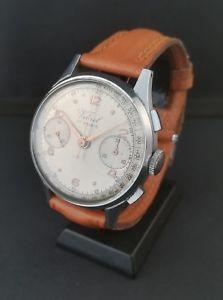 【送料無料】腕時計 ウォッチ ヴィンテージクロノグラフウォッチ rare montre ancienne chronographe vibrel vintage chronograph watch