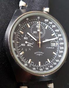 【送料無料】腕時計 ウォッチ ロータリービンテージレーシンググランプリレースクロノグラフvintage rotary valjoux 7765 racing ralleye grand prix carrera chronograph