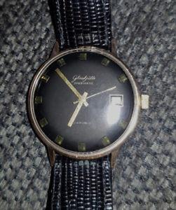 【送料無料】腕時計 ウォッチ ハウkthau gub vidriera spezimatic kal 75 negro original esfera 14kt rar