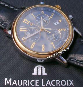 schleppzeigerchronograph 【送料無料】腕時計 ウォッチ lacroix maurice クロノグラフnoble