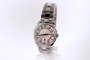 esfera perla 【送料無料】腕時計 madre tono movado 0606618 lx reloj y plata パールフィールドアラームシルバーmujer ウォッチ