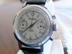 breitling クロノグラフブライトリングクロノグラフヴィンテージcronografo 【送料無料】腕時計 60 valjoux ウォッチ vintage chronograph 7730