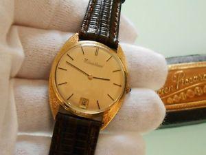 【送料無料】腕時計 ウォッチ ソリッドゴールドウォッチビンテージアンプバックルlucien piccard ~ para hombres 14ct14k reloj de oro slido vintage amp; hebilla ~ precio de venta