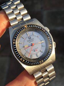【送料無料】腕時計 ウォッチ ビンテージティソアラームブレスレットアラームhermosa vintage tissot pr516 reloj hombre de pulsera de alarma sonora