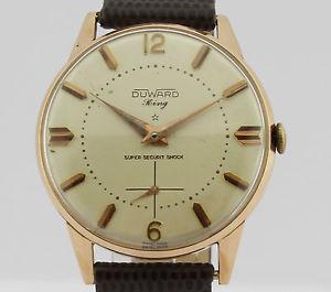 vintage ウォッチ 975 18k king gold キングビンテージkゴールドduward 【送料無料】腕時計