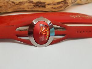 【送料無料】腕時計 ウォッチ クロックグラスファイバーオリジナルケースマニュアルraro dcada de 1970 tressa spaceman manual viento reloj de hombre de fibra de vidrio estuche origi