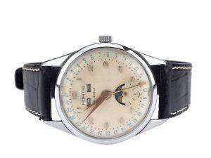 【送料無料】腕時計 ウォッチ スチールフォルティスカレンダームーンフェイズワークfortis acero llena calendario da mes fecha fase lunar seores funcionan reloj de pulsera