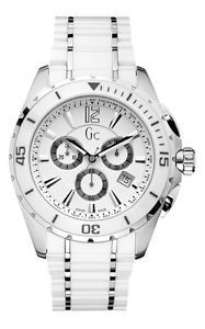 【送料無料】腕時計 ウォッチ スポーツクラスクロックセラミックシルバーマンguess gc x76001g1s sport class xxl cermica reloj de hombre de plata