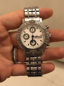 【送料無料】腕時計 ウォッチ クロノグラフシルバーアルジェントlucien rochat automatic chronograph automatico silver argento 21100014