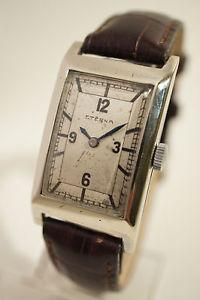 【送料無料】腕時計 ウォッチ グランデボンeterna grande taille en acier, bon tat, annes 40